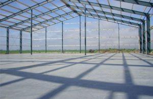 Monoliet afgewerkte betonvloer